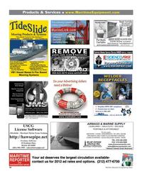 Maritime Reporter Magazine, page 94,  Mar 2012