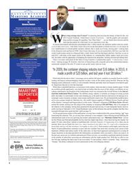 Maritime Reporter Magazine, page 6,  Jun 2012