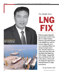 Maritime Reporter Magazine, page 12,  Sep 2012 BAKAR BIN MOHD