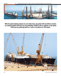 Maritime Reporter Magazine, page 14,  Sep 2012 NAKILAT - KEPPEL OFFSHORE AND MARINE LTD.