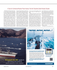Maritime Reporter Magazine, page 27,  Sep 2012