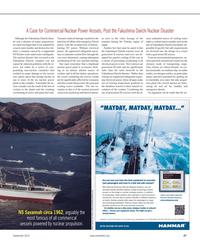 Maritime Reporter Magazine, page 27,  Sep 2012 theFukushima Daiichi complex