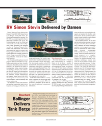 Maritime Reporter Magazine, page 41,  Sep 2012 Flemish Institute for the Sea