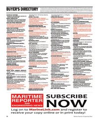 Maritime Reporter Magazine, page 50,  Sep 2012 advertising programs