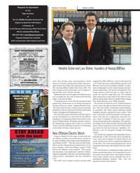 Maritime Reporter Magazine, page 104,  Nov 2012 Lars Rolner