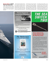 Maritime Reporter Magazine, page 109,  Nov 2012 Online solution iscompatible
