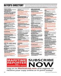 Maritime Reporter Magazine, page 122,  Nov 2012 advertising programs
