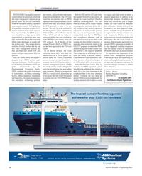 Maritime Reporter Magazine, page 18,  Nov 2012