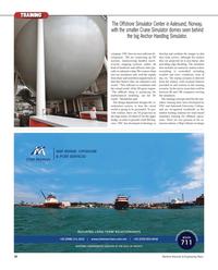 Maritime Reporter Magazine, page 50,  Nov 2012 software de