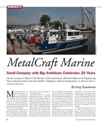 Maritime Reporter Magazine, page 52,  Nov 2012 Monty Wroe