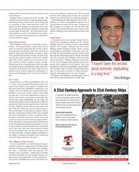 Maritime Reporter Magazine, page 59,  Nov 2012 Tom Crow