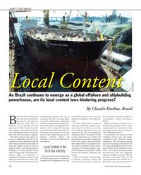 Maritime Reporter Magazine, page 74,  Nov 2012 Brazilian government