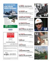 Maritime Reporter Magazine, page 6,  Nov 2012