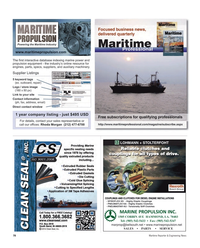 Maritime Reporter Magazine, page 78,  Nov 2012 MARINE PROPULSION INC.