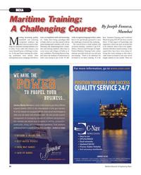 Maritime Reporter Magazine, page 80,  Nov 2012 Template