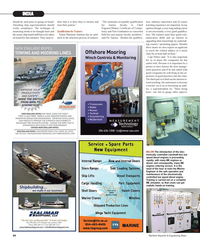 Maritime Reporter Magazine, page 84,  Nov 2012 Trainers Tolani Maritime Institute