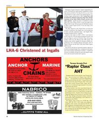 Maritime Reporter Magazine, page 92,  Nov 2012