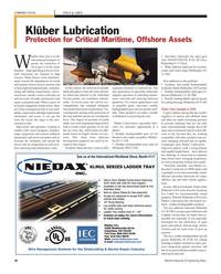 Maritime Reporter Magazine, page 96,  Nov 2012 biodegradable gear oil