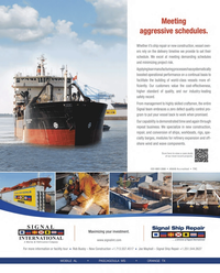 Maritime Reporter Magazine, page 2nd Cover,  Jan 2013