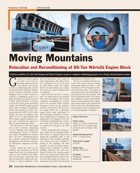 Maritime Reporter Magazine, page 22,  Jan 2013 gas-diesel engine block