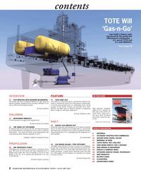 Maritime Reporter Magazine, page 2,  Jan 2013