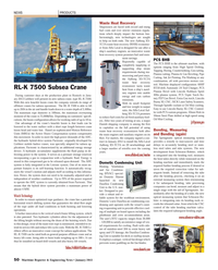 Maritime Reporter Magazine, page 50,  Jan 2013 Lincoln Burny