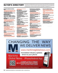 Maritime Reporter Magazine, page 51,  Jan 2013 advertising programs
