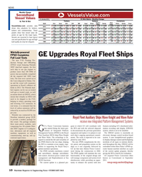 Maritime Reporter Magazine, page 10,  Feb 2013 Royal Navy