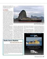 Maritime Reporter Magazine, page 33,  Feb 2013 University of S?o Paulo