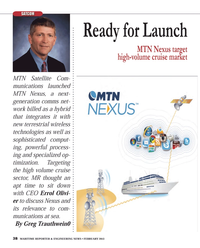 Maritime Reporter Magazine, page 38,  Feb 2013 terrestrial wireless technologies