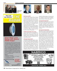 Maritime Reporter Magazine, page 46,  Feb 2013