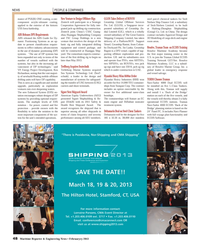 Maritime Reporter Magazine, page 48,  Feb 2013 Sigma DP2 Digital Camera