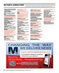 Maritime Reporter Magazine, page 50,  Feb 2013 advertising programs