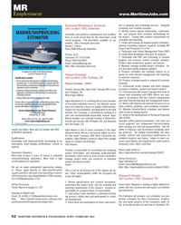 Maritime Reporter Magazine, page 52,  Feb 2013 Washington