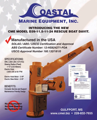 Maritime Reporter Magazine, page 7,  Feb 2013 HP Electric Hoist Motor