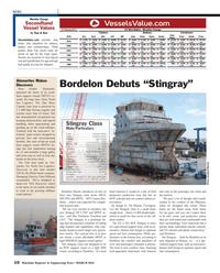 Maritime Reporter Magazine, page 10,  Mar 2013 Connor Bor