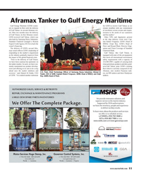 Maritime Reporter Magazine, page 11,  Mar 2013