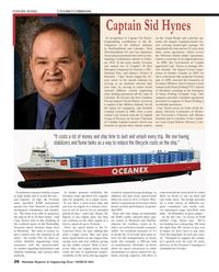 Maritime Reporter Magazine, page 26,  Mar 2013 Harman On Time Radio