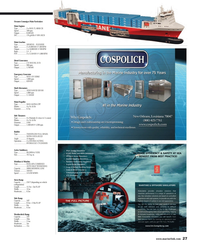 Maritime Reporter Magazine, page 27,  Mar 2013 Siemens