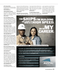 Maritime Reporter Magazine, page 41,  Mar 2013 New York