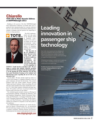 Maritime Reporter Magazine, page 7,  Mar 2013