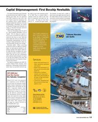 Maritime Reporter Magazine, page 13,  Apr 2013 Shinjiro Mishima
