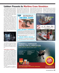 Maritime Reporter Magazine, page 55,  Apr 2013 ef?? cient crane operator training solution