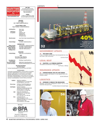Maritime Reporter Magazine, page 4,  Apr 2013 MemberNEW YORK118 E. 25th St.