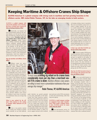 Maritime Reporter Magazine, page 58,  Apr 2013 manufacturing standards