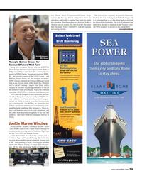 Maritime Reporter Magazine, page 59,  Apr 2013 Panama Canal