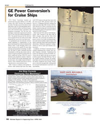 Maritime Reporter Magazine, page 66,  Apr 2013 France MR
