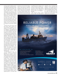 Maritime Reporter Magazine, page 21,  May 2013