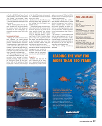Maritime Reporter Magazine, page 37,  May 2013