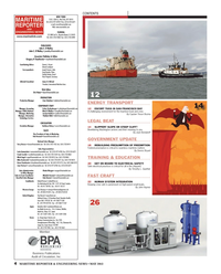 Maritime Reporter Magazine, page 4,  May 2013